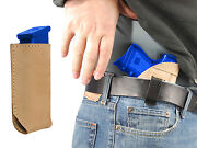 New Barsony Tan Leather Iwb Holster + Magazine Pouch Sig-sauer Compact 9mm 40 45