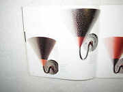Deco Hand Hammered Black Finish Steel W Copper Wall Sconce Signed Bernard Collin