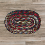 Chestnut Knoll Amber Rose Braided Area Rug By Colonial Mills. Many Sizes