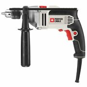 Porter-cable 7-amp 1/2-inch Csr Single Speed Cast Metal Gear Hammer Drill