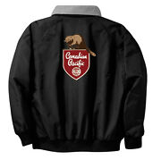 Canadian Pacific Railway Embroidered Jacket Front And Rear [75r]