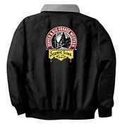 Denver And Rio Grande Western Railroad Embroidered Jacket Front And Rear [101r]