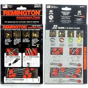 40pc Remington Fastening Into Concrete Steel And Masonry Assortment Pack 0979