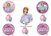 Sofia The First 1st Xl Princess Birthday Party Balloons Decorations Supplies