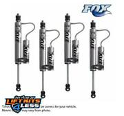 Fox Remote Reservoir Shocks Front/rr 2-3.5 Lift Kits For 84-01 Jeep Cherokee