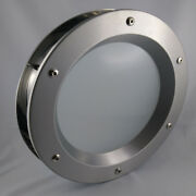 Porthole For Doors Stainless Steel Phi 350 Mm.new.