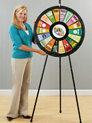 18 Slot Floor Stand Prize Wheel Game With Case Great For Trade Show Events