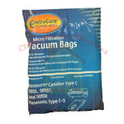 Kenmore 5055 50557 50558 Vacuum Bags Type C And Q Micro Filtration