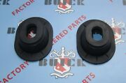 1936-1958 Buick Brake And Clutch Pedal Grommets Pair. Oem 1314862