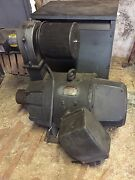 Westinghouse 75 Hp/240v Dc And Baldor 1hp/ 3 Phase Blower Ventilator W/ Filter