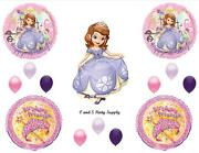 Princess Sofia The First Happy Birthday Party Balloons Decorations Supplies New