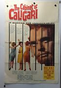 The Cabinet Of Caligari Movie Poster1962