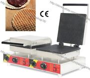 Square Nonstick Electric Dutch Stroopwafel Syrup Waffle Maker Baker Machine Iron