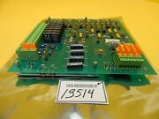 Matrix 1000-0073 Cluster Tool Phase Monitor Pcb Board System 10 Style 1104 Used