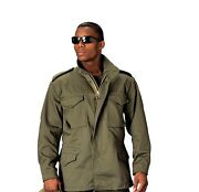 Rothco Od Green Army M65 Field Jacket Coat With Removeable Liner Size Xs To 6x