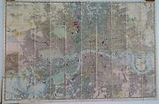 Antique Maps, Reynolds's New Map Of London And Its Suburbs, 1883