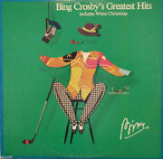 Bing Crosby's Greatest Hits Includes White Christmas Lp Mca Records New/sealed
