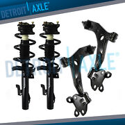4pc Front Struts And Lower Control Arm Ball Joint For 2010 2011 2012 2013 Mazda 3