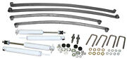 1947-55 Chevy-gmc Truck Suspension Kit, Stage 1 Mono 4 Leaf Springs And Shocks