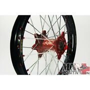 Ruota Completa Yamaha Wr 125 2000-2014 Kite 5.00x17 Posteriore Rosso/red 20.06