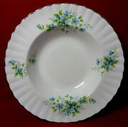 Royal Stafford England Coquette Pattern Soup Or Salad Bowl - 7-3/4