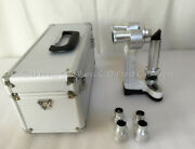 New Portable Hand Held Slit Lamp Microscope 5000 With Case Ce Approval