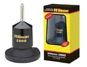 Wilson 5000 Hi Power Magnet Mag Mount Cb Radio Antenna New With 62.5 Whip