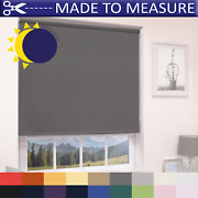 Made To Measure Blackout Roller Blinds - 100 Thermal - Custom Made To Size