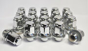 24 X Genuine M12x1.5 Flat 21mm Alloy Wheel Nuts For Toyota Cars
