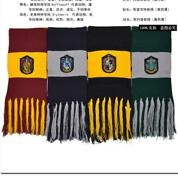 Harry Potter Knit Shawl Wrap Winter Warm Scarf Deathly Hallows Costume Cosplay