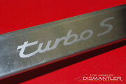 Porsche 911 993 Turbo S Left Stainless Door Sill Entry Trim Step Plate Cover