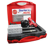 Mil-tec 4 Starter Kit With 3 Face Mill 3/4 And 1 Insert-able End Mills Usa