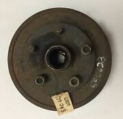 1939-1947 Dodge Truck Left Front Brake Hub And Drum, Good Used