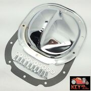 Ford Chrome 8.8 10 Bolt Rear Differential Cover F-150 Explorer Mustang Gasket