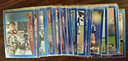 2009 Topps Chrome Blue Refractors -you Choose Free Ship All Prices Slashed