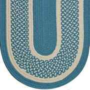 Williamsburg Blue Braided Area Rug And Runner Many Sizes Available