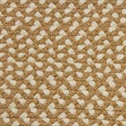 Tan And Cream Check Country Braided Area Rug And Runner Many Sizes Available