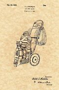 Patent Print - Vintage Michelin Man Air Compressor - 1929 - Ready To Be Framed