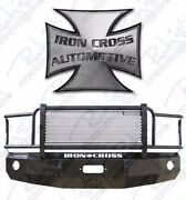 Iron Cross Hd Grille Guard Front Bumper For 2010-2015 Dodge Ram 2500 3500