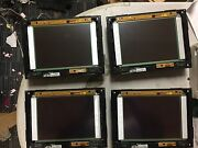 Lot Of 4 Crestron Tpmc-8l Isys™ 8.4 Wall Mount Touch Panel Fix Or Parts