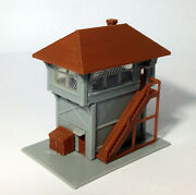 Outland Models Train Railway Layout Signal Tower / Box For Station N Scale 1160