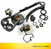 Timing Chain And Water Pump Fits 93-01 Nissan Altima 2.4 L Dohc Ka24e