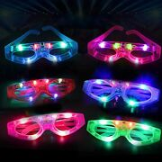 Led Light Up Sunglasses Glow In The Dark Party Supplies Led Glasses 24 Pack