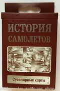 History Of Aircraft Plane Jet Deck 54 Ukrainian Playing Cards Ukraine Deluxe