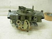 1969 4543 S Holley Carburetor 850 Cfm Center Squirter Carb Dated August 69