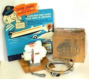 Read Rare 1960s Seibert And Sons Lectro-loader Boat Trailer Winch Nos Vintage