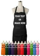 Personalised Adults Chefs Apron Cooking Custom Printed Novelty Gift Mens Ladies