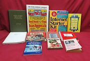 Lot Of 11 Books How To Fish, Srandc Catalog, Care And Repair Of Antiques, Etc
