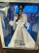 Holiday Visionswinter Fantasy African American Barbie Doll-2003 Special Edition
