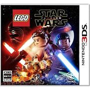 New 3ds Lego Star Wars The Force Awakens 3ds Japan Import